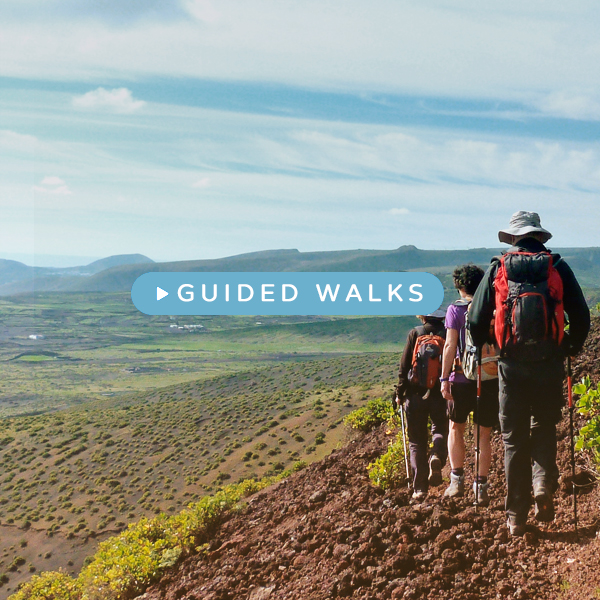 Guided walks lanzarote
